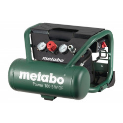 Metabo POWER 180-5 W OF compressor | 5Ltr 8bar