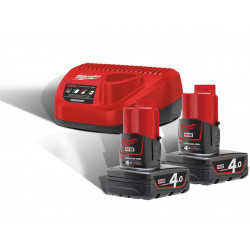 Milwaukee M12NRG-402 kit