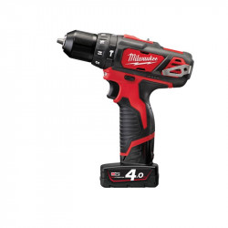 Milwaukee M12 BPD-402C subcompact-slagboormachine | 4.0Ah