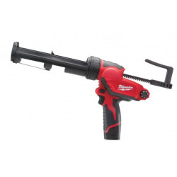 Milwaukee M12 PCG/310C-201B kit-lijmpistool