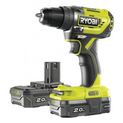 Ryobi R18DD5-220S 18V Li-Ion Koolborstelloze Boormachine 2x Accu 2.0A in Softbag