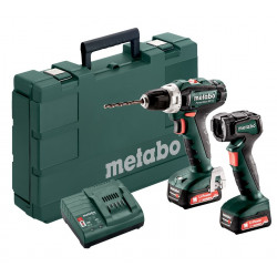 Metabo Combo set 2.7.3 12 V BL Accu-machine in de set (SSD 12BL & BS 12BL)