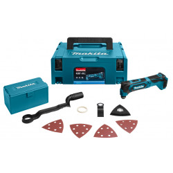 Makita TM30DZJX4 10,8 V Multitool | Zonder accu's en lader, in Mbox, acc. set