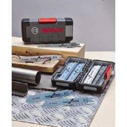 Bosch Accessoires 15-delige set reciprozaagbladen Hout / metaal in ToughBox