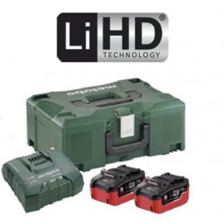 Metabo Basic-Set 2x 18v LiHD 8.0Ah Batteries + ASC Ultra + MetaLoc | Pick+Mix