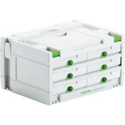 Festool Accessoires SORTAINER SYS 3-SORT/6 | 491984