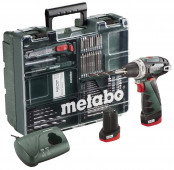 Metabo Accu boorschroefmachine 10.8 Volt PowerMaxx BS Basic Mobile Workshop - 600080880