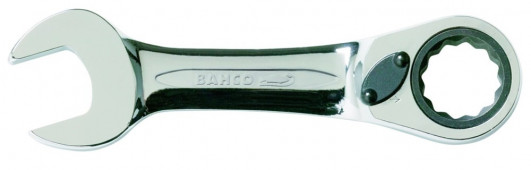 Bahco ring-steekratelsleutel stubby | 10RM-17 - 10RM-17