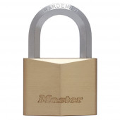 Masterlock 60mm extra thick solid brass body - 35mm hardened steel HEXagonal shac