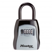 Masterlock Aluminium body, weather resistant, 4 digits variable combination - wit