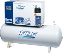 Fiac 10 Bar 400/50/3 Fiac New Silver D 7 5/500 Schroefcompressor 5,5 kW - 560705077