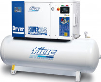Fiac 10 Bar 400/50/3 Fiac New Silver D 20/500 Schroefcompressor 15 kW - 560705207