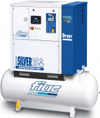 Fiac 10 Bar 400/50/3 Fiac New Silver D 25/500 Schroefcompressor 18,5 kW - 560705257