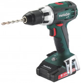Metabo BS 18 LT Compact accuboormachine | 18v 2.0Ah Li-ion - 602102530