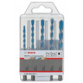 Bosch Accessoires Set Universele boren HEX-9 Multi Construction - (4/5/6/6/8)