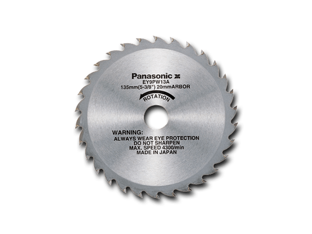 EY9PW13A HM-houtzaagblad 135 mm x 30 tands (EY3503)
