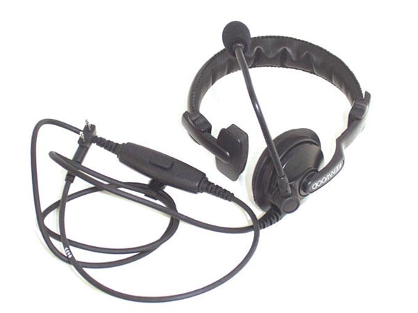 KENWOOD® KHS-7A single muff headset with boom mic, PTT HQ product