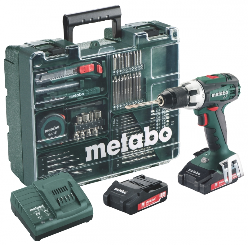 Afbeelding van product Metabo  BS 18 LT Set Mobile Workshop accuboormachine