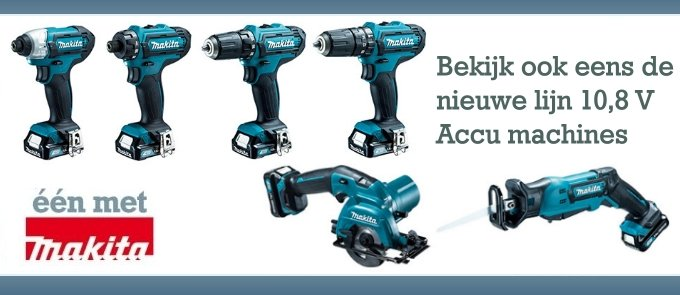 Makita 10,8V machines